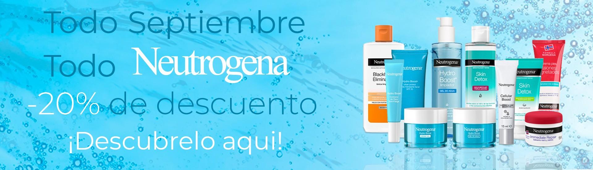 Promocion Neutrogena Septiembre